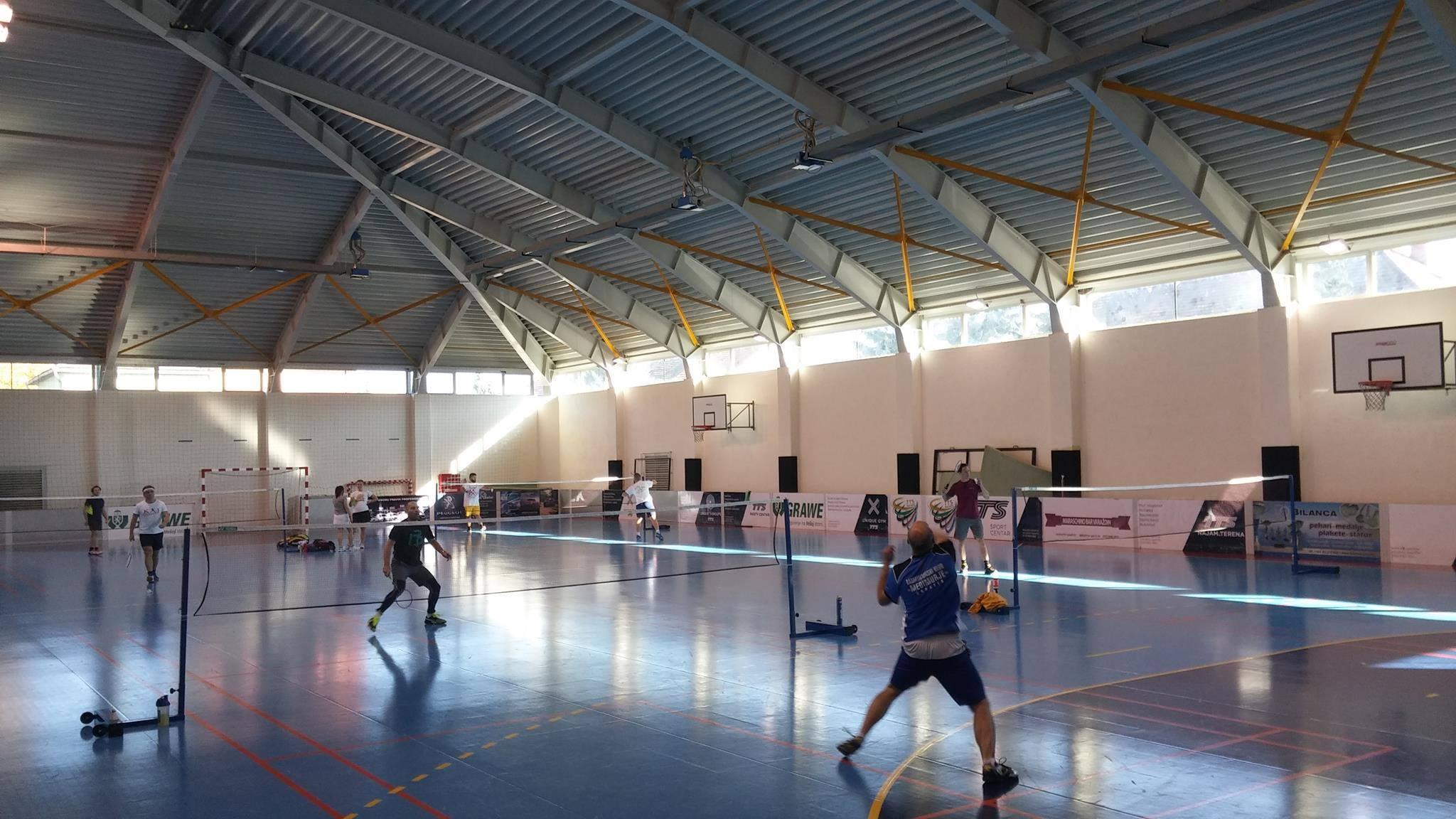 """Prvi turnir badminton """"Kaj"""" lige 2016-2017."""